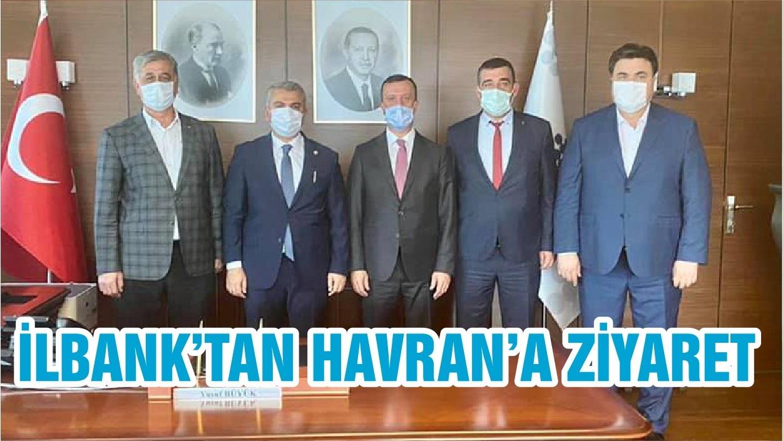 İLBANK'TAN HAVRAN'A ZİYARET
