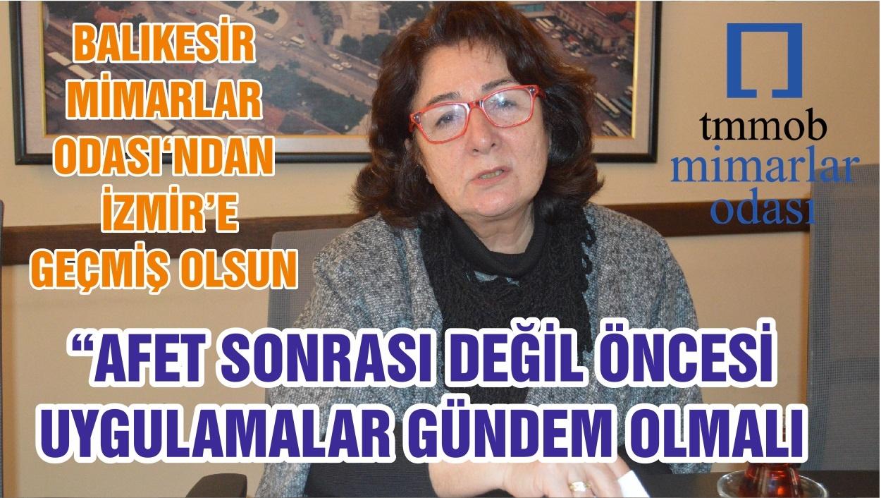 """""""AFET SONRASI DEĞİL ÖNCESİ UYGULAMALAR GÜNDEM OLMALI"""