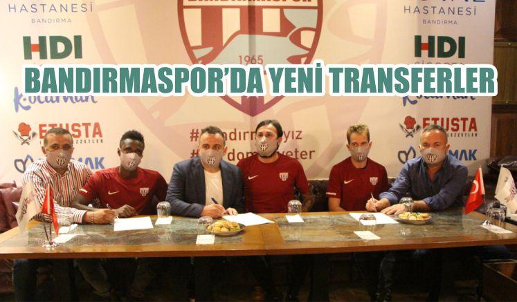 BANDIRMASPOR'DA YENİ TRANSFERLER