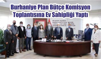 Burhaniye Plan Bütçe Komisyon Toplantısına Ev Sahipliği Yaptı