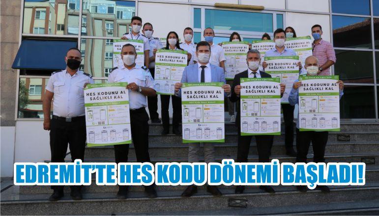 EDREMİT'TE HES KODU DÖNEMİ BAŞLADI!