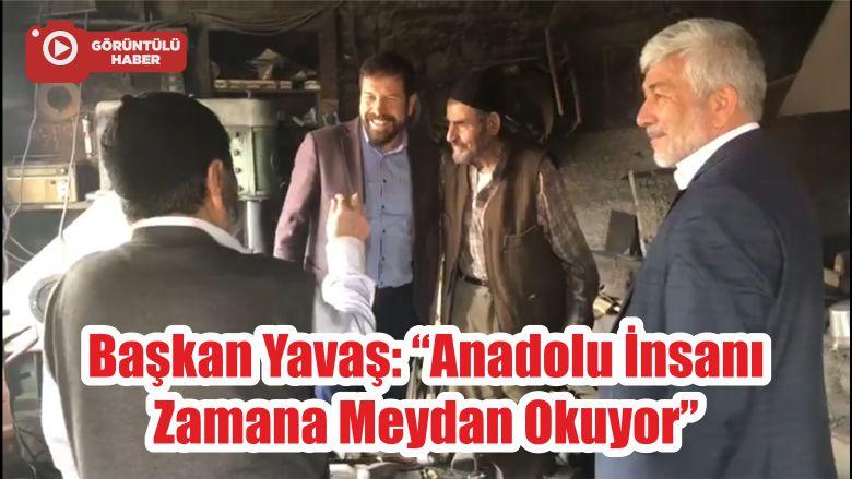 """Başkan Yavaş: """"Anadolu İnsanı Zamana Meydan Okuyor"""""""