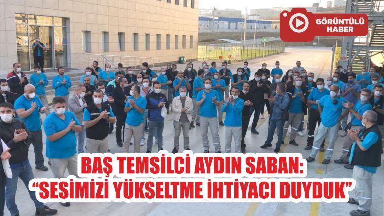 "BAŞ TEMSİLCİ AYDIN SABAN: ""SESİMİZİ YÜKSELTME İHTİYACI DUYDUK"""