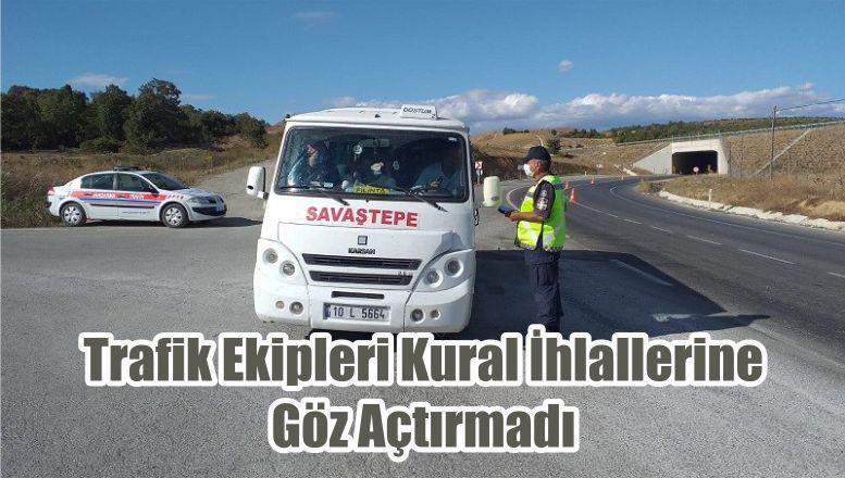 Trafik Ekipleri Kural İhlallerine Göz Açtırmadı