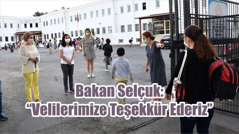 """Bakan Selçuk: """"Velilerimize Teşekkür Ederiz"""""""