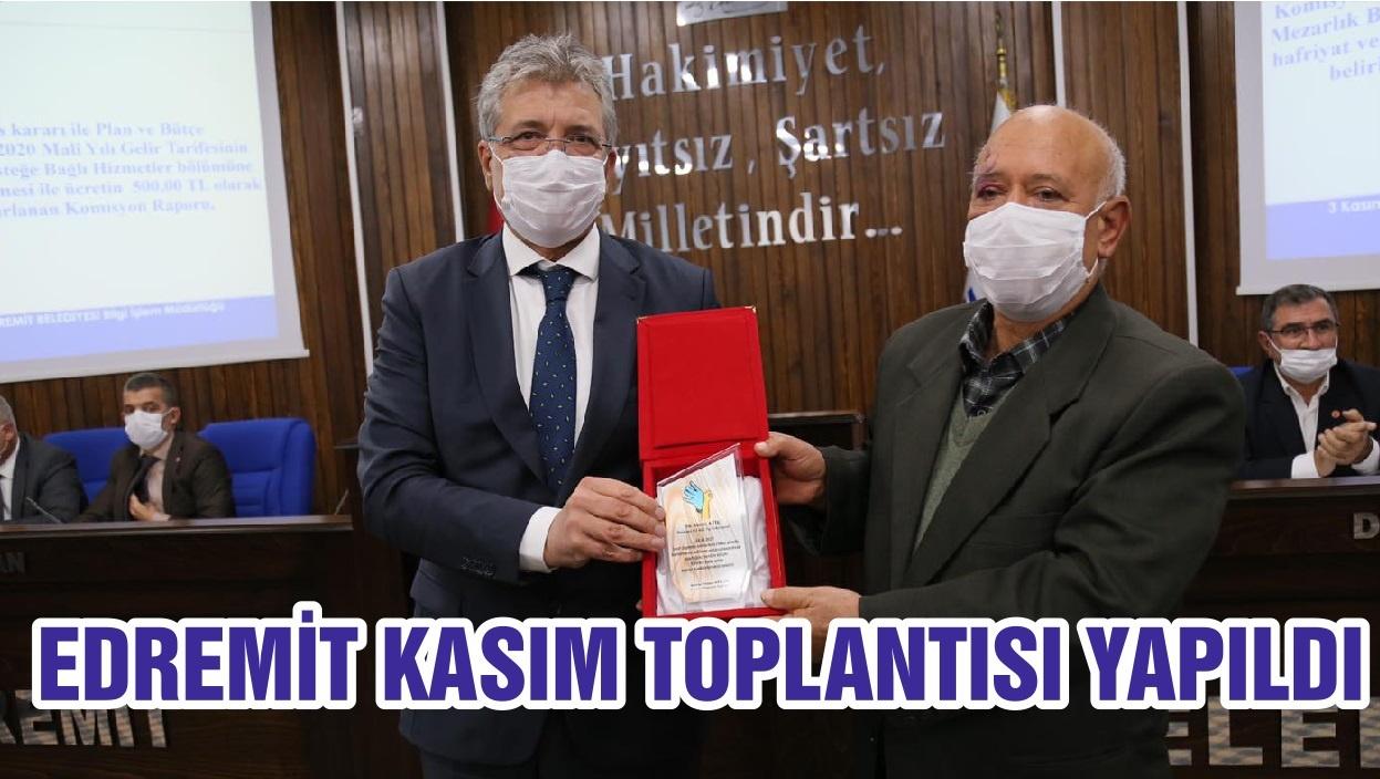EDREMİT KASIM TOPLANTISI YAPILDI