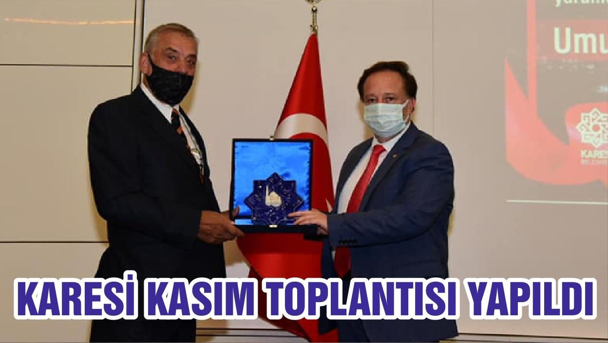 KARESİ KASIM TOPLANTISI YAPILDI