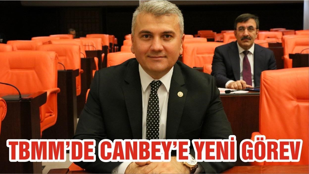 TBMM'DE CANBEY'E YENİ GÖREV
