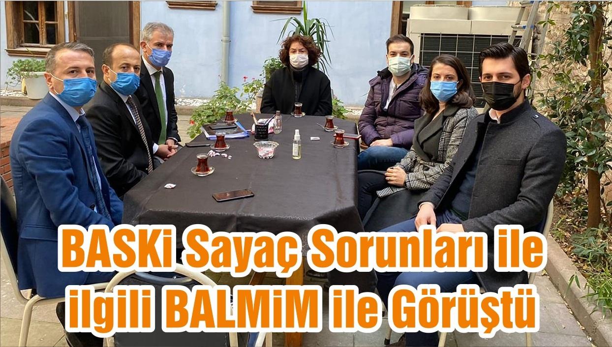 BASKi Sayaç Sorunları ile ilgili BALMiM ile Görüştü
