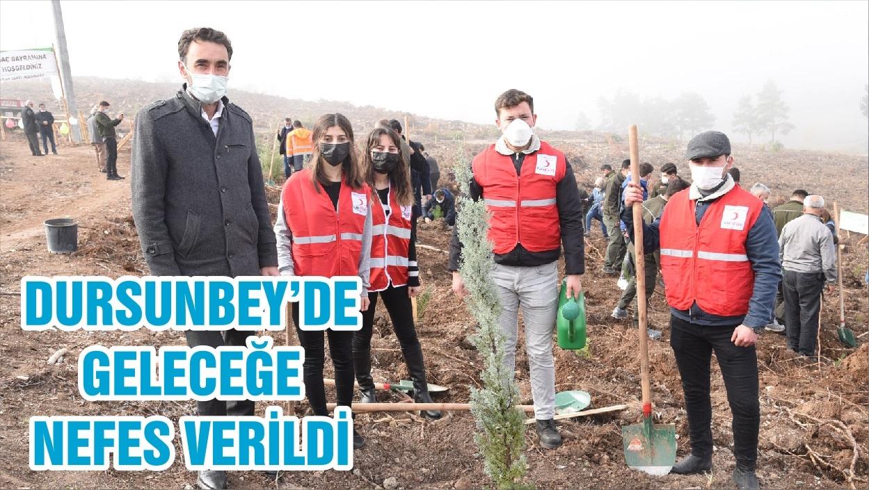 DURSUNBEY'DE GELECEĞE NEFES VERİLDİ