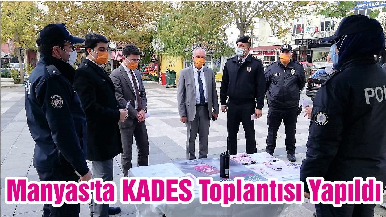 Manyas'ta KADES Toplantısı Yapıldı