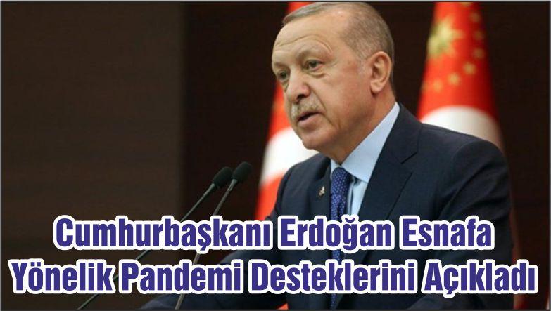 Cumhurbaşkanı Erdoğan Esnafa Yönelik Pandemi Desteklerini Açıkladı