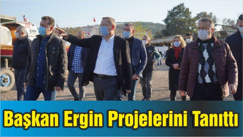 Başkan Ergin Projelerini Tanıttı