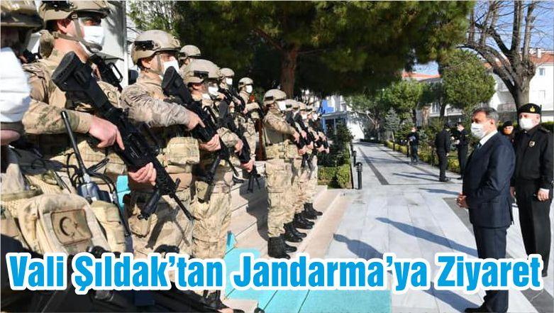 Vali Şıldak'tan Jandarma'ya Ziyaret