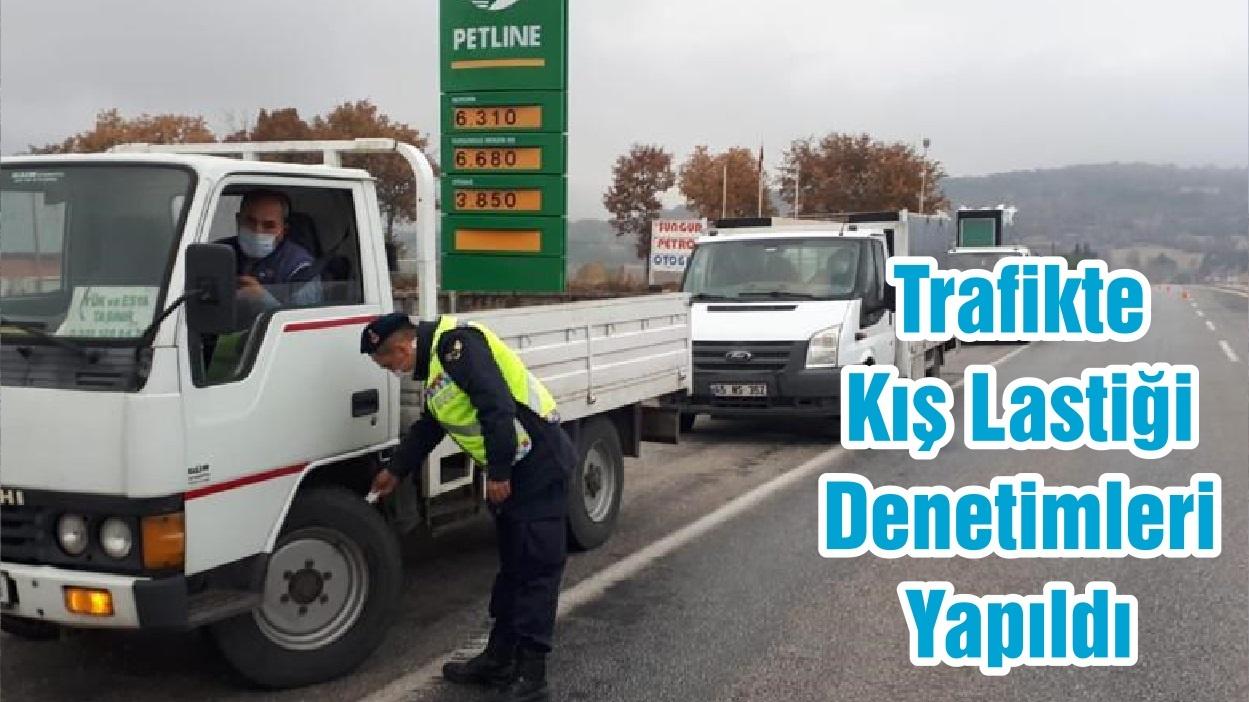 Trafikte Kış Lastiği Denetimleri Yapıldı