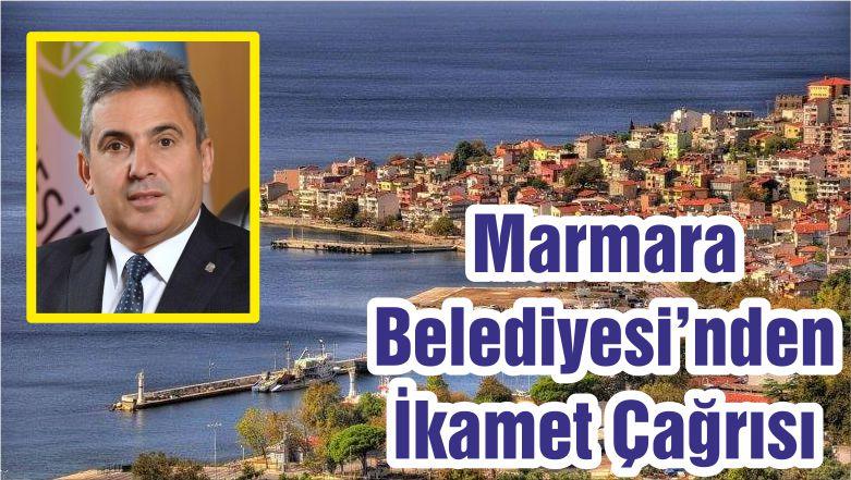 Marmara Belediyesi'nden İkamet Çağrısı