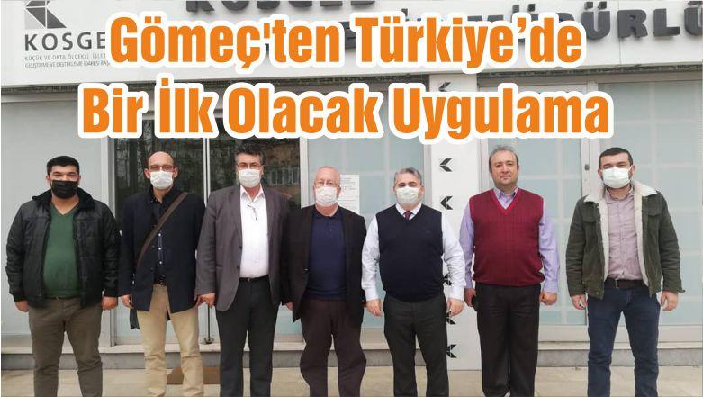 Gömeç'ten Türkiye'de Bir İlk Olacak Uygulama