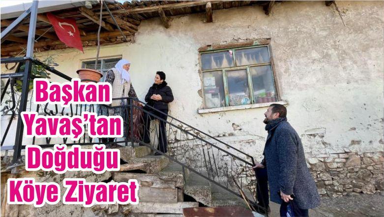 Başkan Yavaş'tan Doğduğu Köye Ziyaret