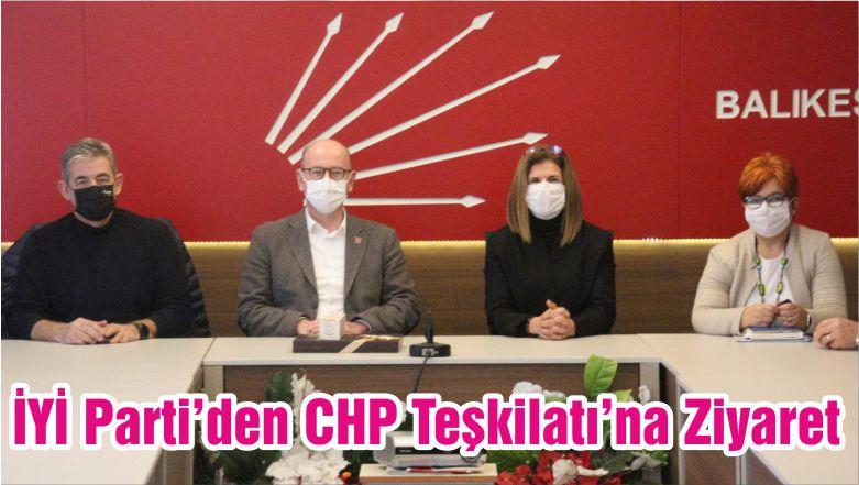 İYİ Parti'den CHP Teşkilatı'na Ziyaret