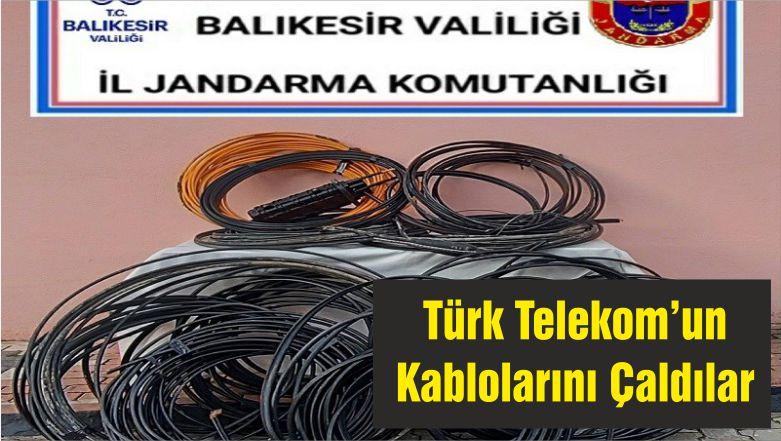 Türk Telekom'un Kablolarını Çaldılar