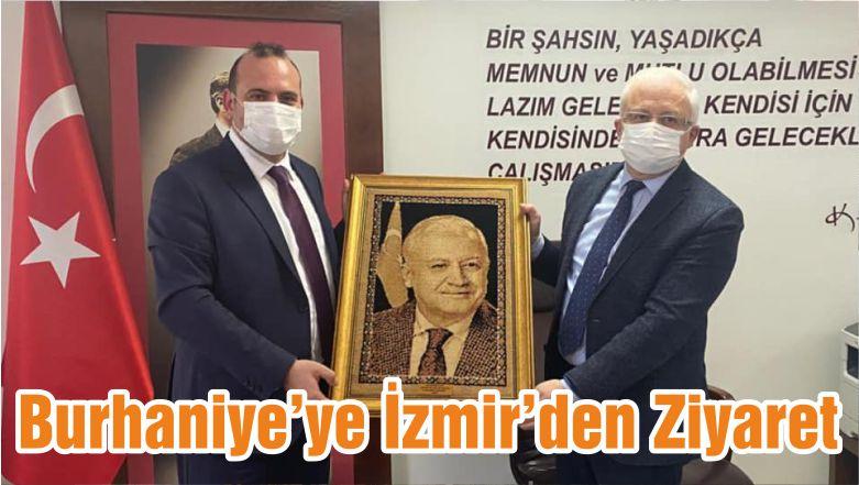 Burhaniye'ye İzmir'den Ziyaret