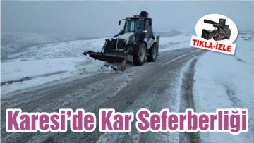 Karesi'de Kar Seferberliği