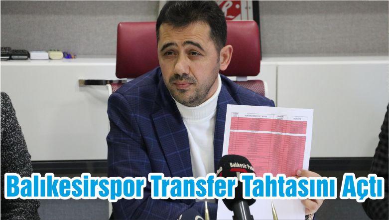 Balıkesirspor Transfer Tahtasını Açtı