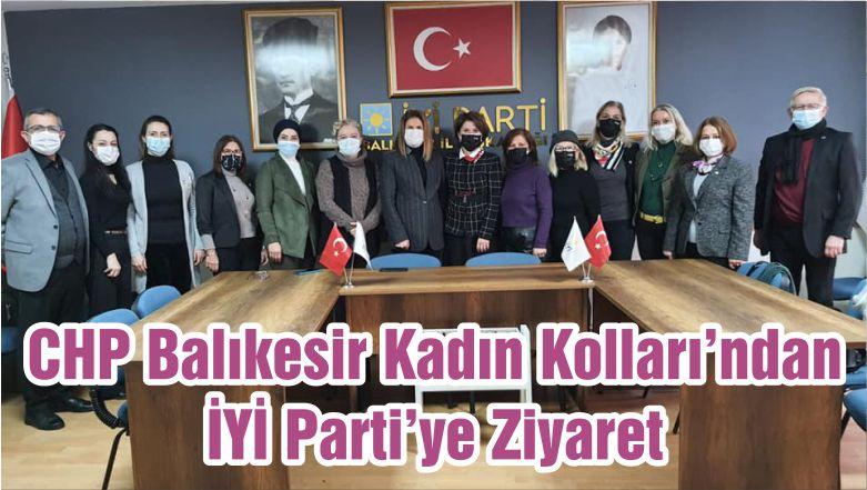 CHP Kadın Kolları'ndan İYİ Parti'ye Ziyaret