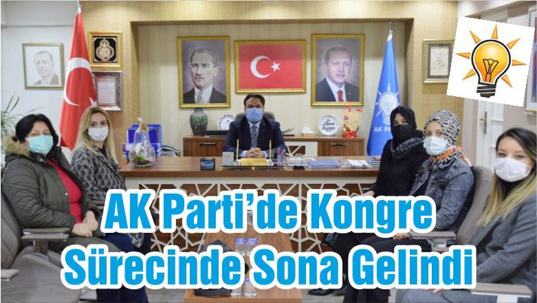 AK Parti'de Kongre Sürecinde Sona Gelindi