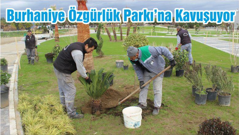 Burhaniye Özgürlük Parkı'na Kavuşuyor