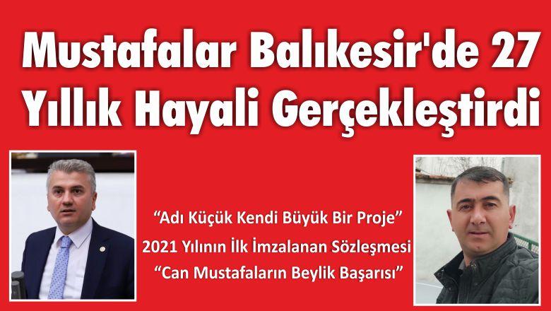 Mustafalar Balıkesir'de 27 Yıllık Hayali Gerçekleştirdi