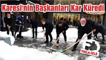 Karesi'nin Başkanları Kar Küredi
