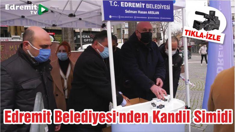 Edremit Belediyesi'nden Kandil Simidi