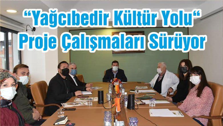 """""""Yağcıbedir Kültür Yolu"""" Proje Çalışmaları Sürüyor"""