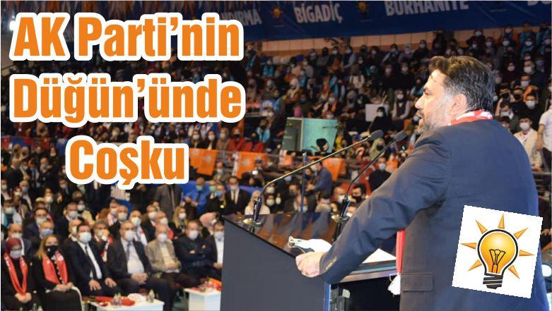 AK Parti'nin Düğün'ünde Coşku