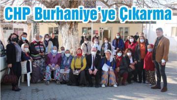 CHP Burhaniye'ye Çıkarma