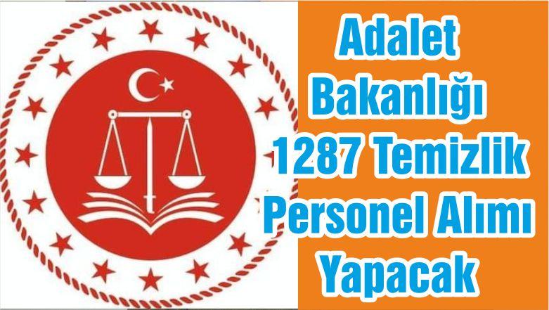 adalet bakanligi 1287 temizlik personel alimi yapacak balikesir merhaba gazetesibalikesir merhaba gazetesi