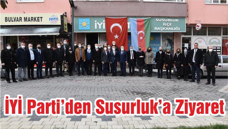 İYİ Parti'den Susurluk'a Ziyaret