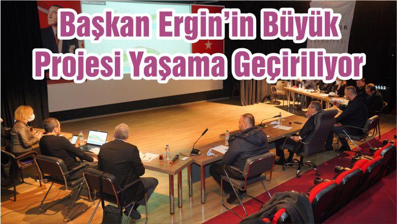 Başkan Ergin'in Büyük Projesi Yaşama Geçiriliyor