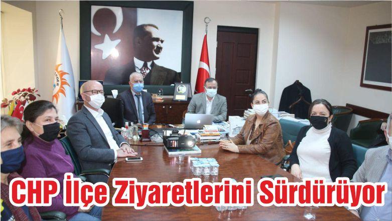 CHP İlçe Ziyaretlerini Sürdürüyor