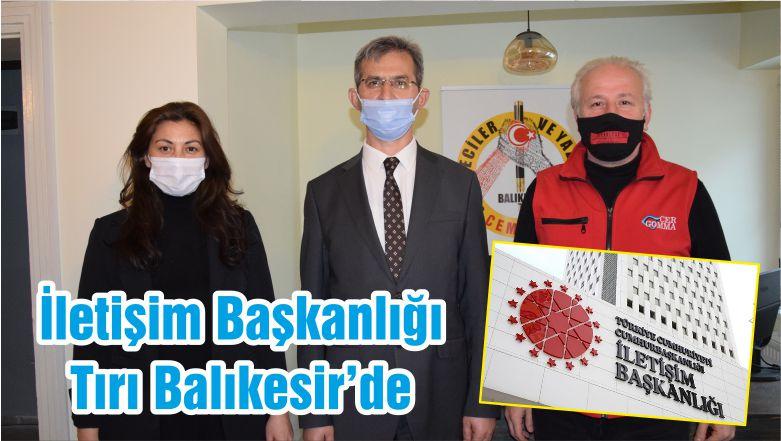 İletişim Başkanlığı Tırı Balıkesir'de