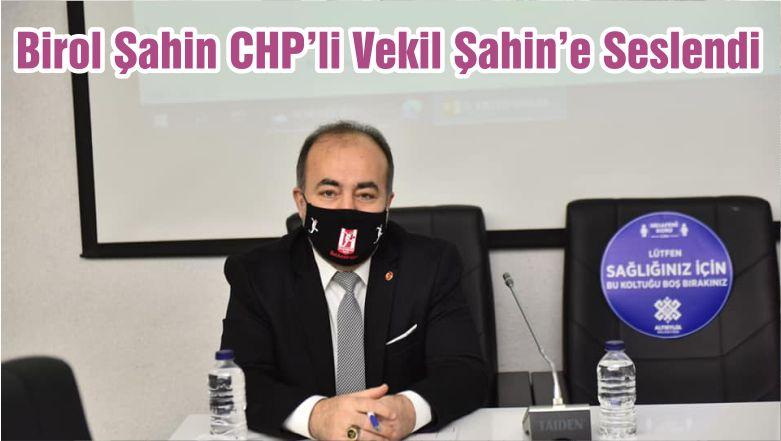 Sözcü Birol Şahin CHP'li Vekil Şahin'e Seslendi