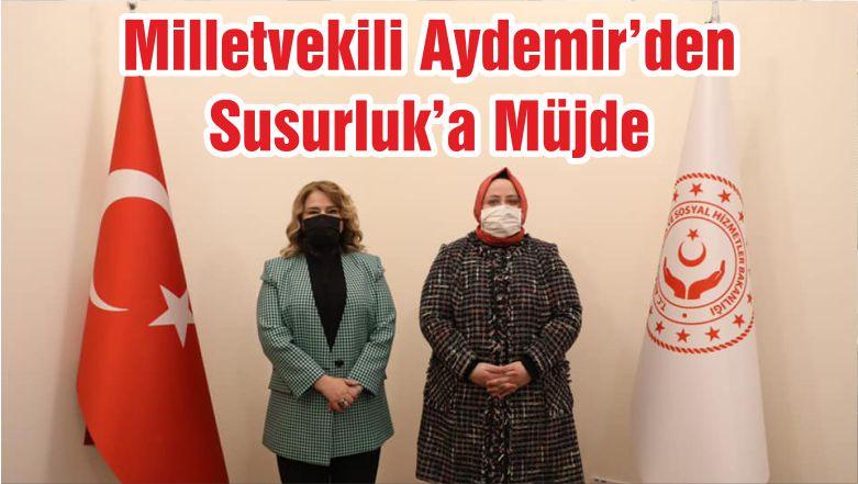 Milletvekili Aydemir'den Susurluk'a Müjde