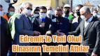Edremit'te Yeni Okul Binasının Temelini Attılar