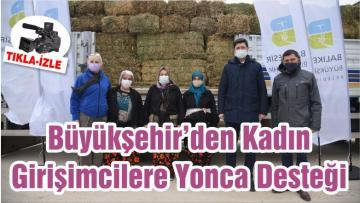 Büyükşehir'den Kadın Girişimcilere Yonca Desteği