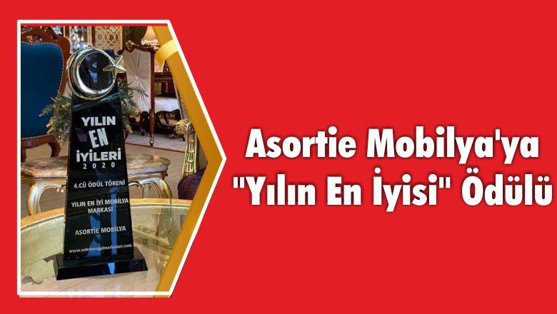 """Asortie Mobilya'ya """"Yılın En İyisi"""" Ödülü"""