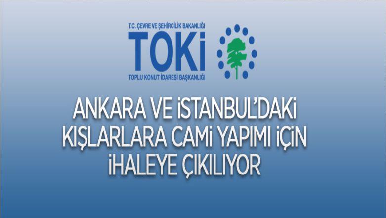 TOKİ'den Ankara Ve İstanbul'daki Kışlalara Camii