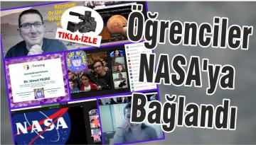 Öğrenciler NASA'ya Bağlandı