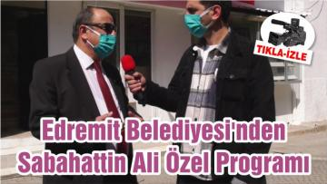 Edremit Belediyesi'nden Sabahattin Ali Özel Programı