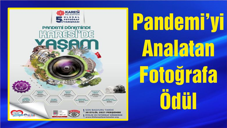 Pandemi'yi Analatan Fotoğrafa Ödül